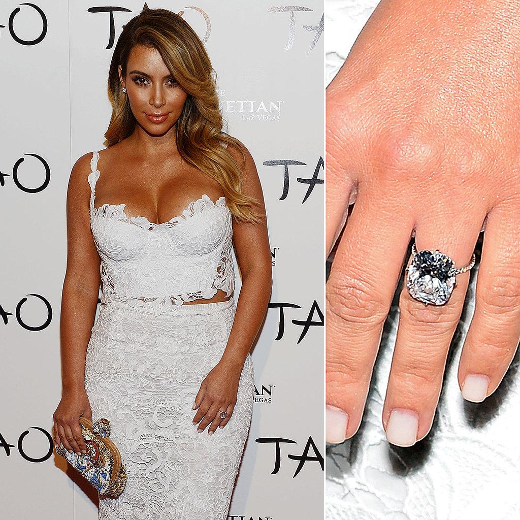 Choosing An Engagement Ring Jewelry That Suits Your Stylekim Kardashian Engagement  Ring 2014